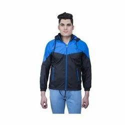 Full Sleeve Blue And Black Winter Jackets