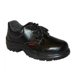 Black Karam Safety Shoes, Packaging Type: Box, For Industrial
