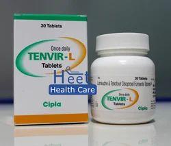 Tenvir-L Lamivudine 300 mg Tenofovir 300 mg Tablet