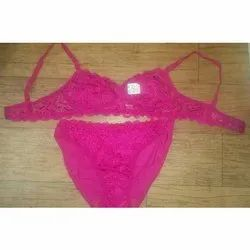 225 Bra & Panty Set with Netted