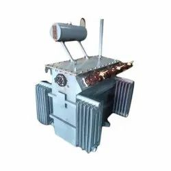 33-433 Kv (input-output) Oil Cooled 315 KVA Three Phase Copper Wound Distribution Transformer, For Industrial, Floor Mounted