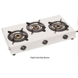 Triple Cock LPG Gas Stove