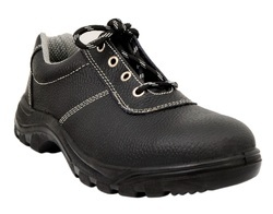 Black Cambrelle Neosafe Electrical Resistant Safety Shoe, Korbex A7002, for Construction