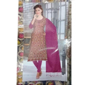 Ladies Embroidery Suit Fabric