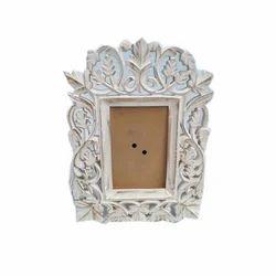 Wooden White Designer Photo Frame, For Decoration