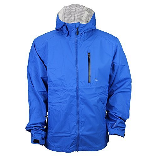 f0c840db6424 Blue Men s Raincoat
