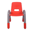 The Volver Engineering Plastic Kids Chair Red