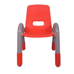 The Volver Engineering Plastic Kids Chair Red (VJ-0218)
