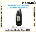 GARMIN Rino 750 Rugged GPS/GLONASS Handheld with Two-way Radio 5 W GMRS two-way radio