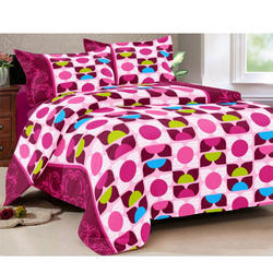 Jaipuri Print Cotton Double Bed Sheet