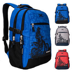 Laptop Backpack Bags - Killer Berlin 33L Printed Polyester Royal Blue    Black Laptop Backpack 613f9b5c92eab