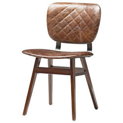 Pranshi Handicrafts Leather Cafeteria Chair