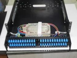 Rack Mount 24 Port Liu SC To LC MM/SM Commscope With Splicing Tray