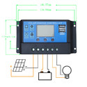 PWM Solar Charge Controllers 20a Charger Energy Controller