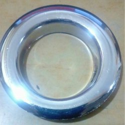 Big Silver Chrome Round Eyelet Ring With Washer