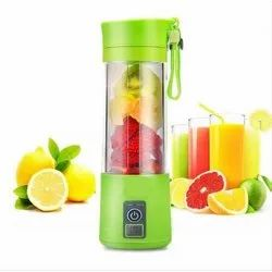Plastic Yellow USB Electric Juicer for Home, Capacity: 400 Ml