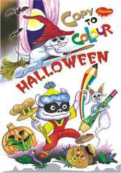 Copy To Colour Helloween