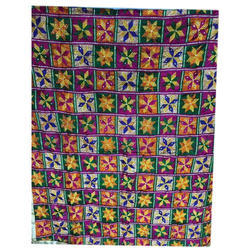 Ladies Chinnon Floral Designer Embroidered Phulkari Dupatta