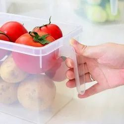 Refrigerator Food Storage Organizer Lunch Boxes With Handle