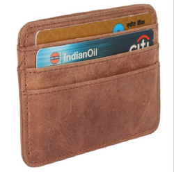 Business Card Holder genuine leather