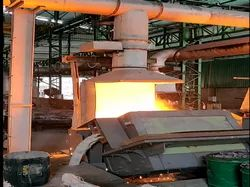 Induction Furnace Fume Extraction