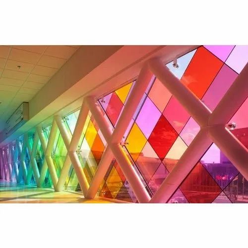 Saint Gobain Color Laminated Glass, for Office