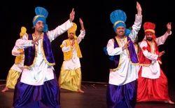 Men Bharatanatyam Bhangra Dress