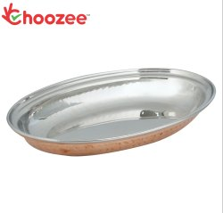 Choozee - Steel Copper Oval Donga (Medium)