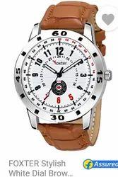 White Dial Analog Watch