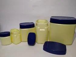 Vaseline Plastic Jar