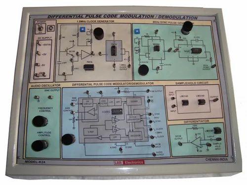 Model K 24 Differential Pulse Code Modulation And demodulati