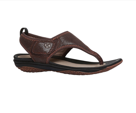dd08ee57bcc45 Hush Puppies Brown Flat Sandals For Women F66441380000EG at Rs 3999 ...