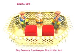 Traditional Ring Ceremony Tray