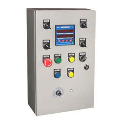 Single Phase Stainless Steel Electric Control Panel, IP Rating: IP54