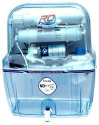 Blue ABS Plastic Domestic RO System cabinet