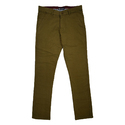 Chinos Plain Olive Trousers