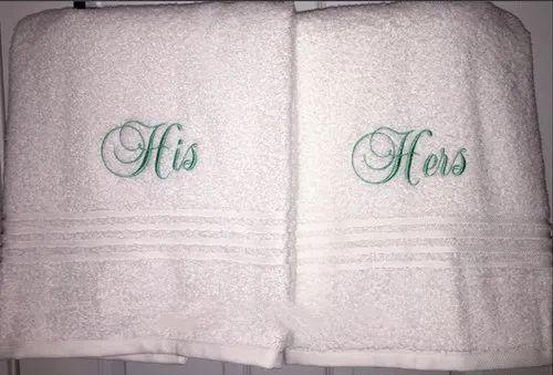 Cotton White Marriage Gift Item