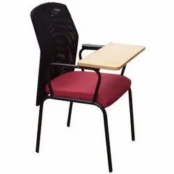 Fixed Arm Writing Pad Chair