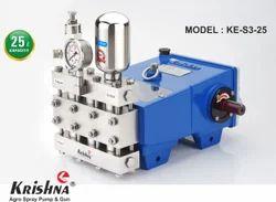 Triplex Horizontal Plunger Pump (KE-S3-25)