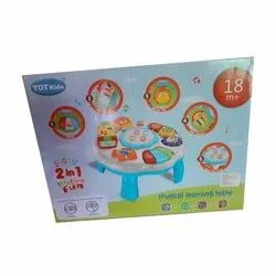 Plastic TOT Kids Musical Learning Table Toy, Child Age Group: 18 Year Plus