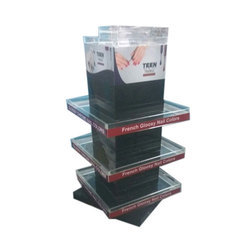 Printed Acrylic Nail Paint Stand