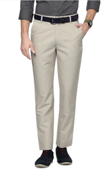 PTF1041601290 Peter England Cream Trousers