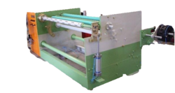 Single Shaft Log Rewinding Machine