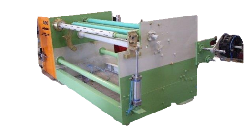 HERO 5HP Single Shaft Log Rewinding Machine, For Industrial