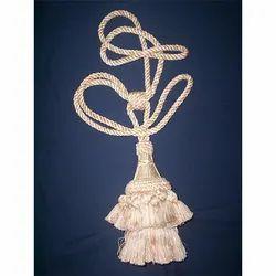 Silk Tie Back Tassels