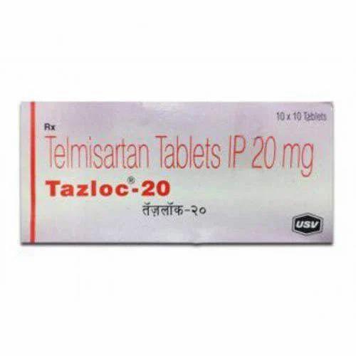 USV Tazloc Tablet, 10 X 10 Tablet, Packaging Type: Strips, Rs 28.98 /strip  | ID: 16748352212