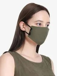 Yelloe Unisex Reusable 3 Layer Pollution Mask (Pack Of 4)