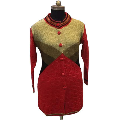 75a455f0227 Ladies Party Wear Long Sweater - View Specifications   Details of ...