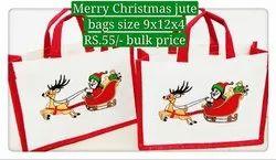 Christmas Gift Jute Bag