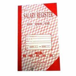 Salary Register Book